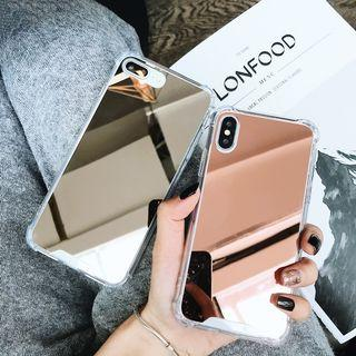 iPhone Case Mirror Silicone Protective Cover