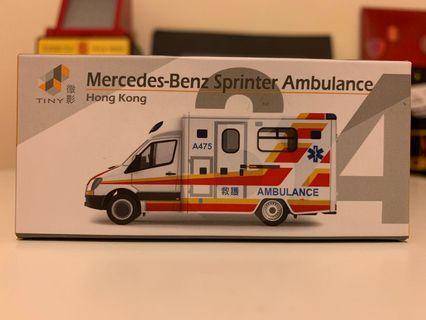 微影初版救護車(A475)