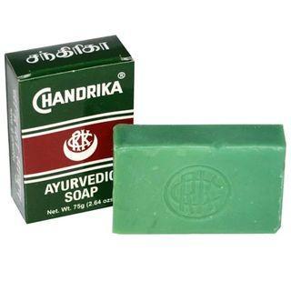 [預訂] Chandrika Soap 錢德里卡, Ayurvedic Soap 阿育吠陀肥皂草藥香皂 75 g