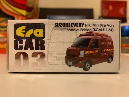 Era Car SUZUKI EVERY HK Mini Fire Van