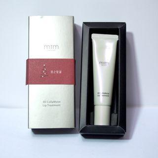 日本 MTM 皇牌膠原修護唇霜 3D CollaMoist Lip Treatment 12g 全新連盒