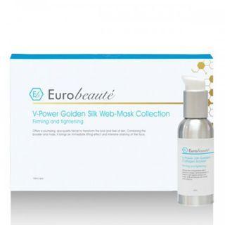 套裝 Euro Beaute 炫光金絲提升面膜組合 (6片mask + 100ml booster) 全新連盒