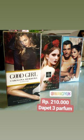 Paket parfum travelsize 20ML