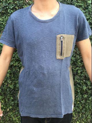 Pull & Bear Kaos kantong resleting