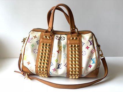 Authentic Louis Vuitton Multicolor Courtney Two Way Bag