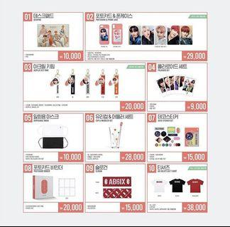 [Coming Soon] AB6IX Pop Up Store Official Goods