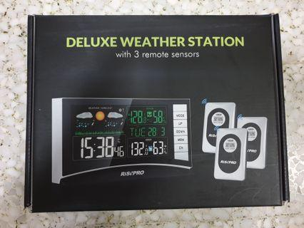 Free Delivery(JG32) RISEPRO Deluxe Weather Station Digital Wireless #AmplifyJuly35