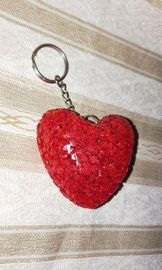 6cm Heart Shaped Keychain