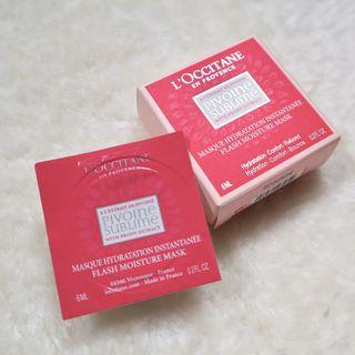 L'Occitane Pivoine Sublime Flash Moisture Mask
