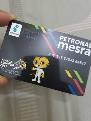 Touch n go Card KL Sea Games 2017 Petronas Mesra Edition