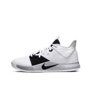 Nike Paul George PG 3 White/Black/Gainsboro 白/黑/亮灰