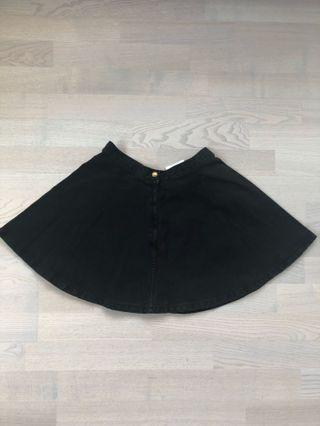 American apparel denim skirt -size S