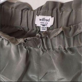 WILFRED satin shorts XXS