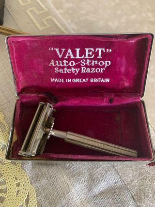 🚚 Classic Valet Shaver solid silver