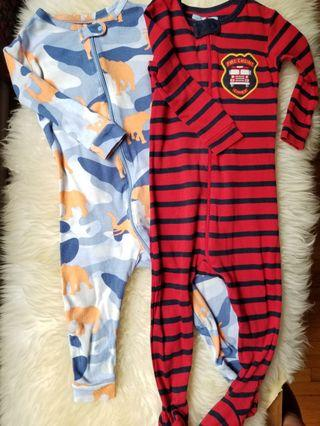 Baby Gap sleepers. Size 6-12mths. New condition. Purchased new for $60. Take each for $9 or both for $15 pick up Gerrard and main. Otherwise pick up yorkville or 20 Bay for Lots of designer or Baby Gap clothes all purchased new.