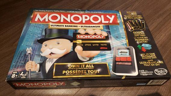 Monopoly and mad libs, 10 dollars for everything