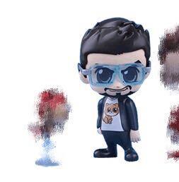 [絕]marvel tony ironman in cat tee and glasses