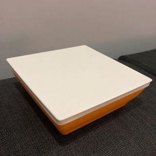 💯 [Tupperware] Square Lunch Box (960ml) #CarousellFaster