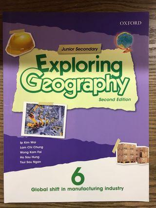 Exploring Geography 中三地理教科書