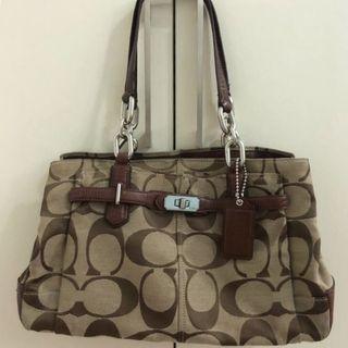 💯 [Coach] Shoulder Bag / Tote Bag / Handbag #CarousellFaster