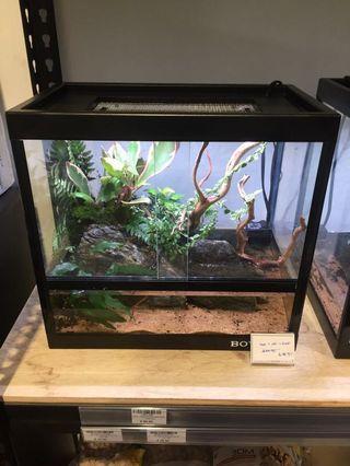 🚚 Terrarium Tank (35.8 x 21.8 x 33.7cm)