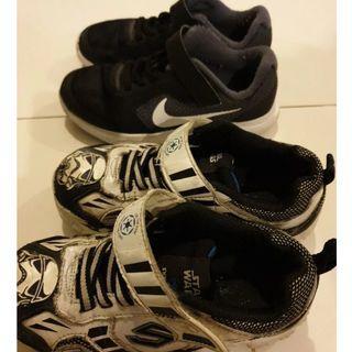 Used kids nike shoe and skechers sport shoe