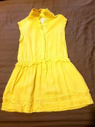 Dress Kuning Chateau De Sable bukan Mothercare Gingersnaps