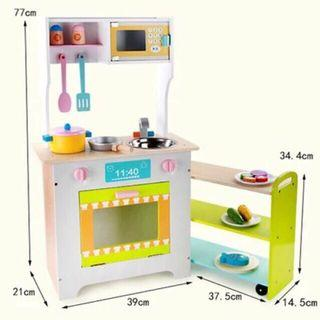 Wooden pull out table kitchen set (292)
