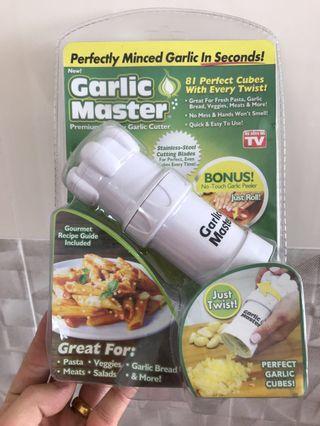Garlic Master (mincer/cutter/peeler)