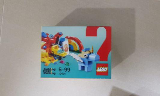New in box LEGO 10401 fun rainbow