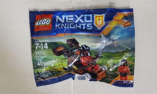 New in bag LEGO 30374 nexo knights the lava slinger