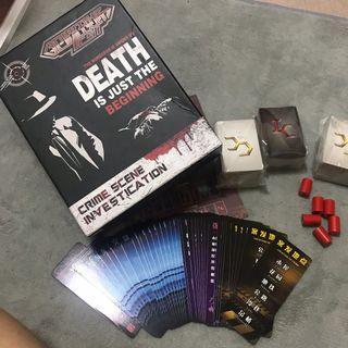 🚚 全新#犯罪現場-DEATH-外盒有壓傷
