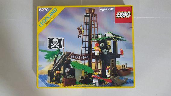 🚚 LEGO 6270 pirate forbidden island