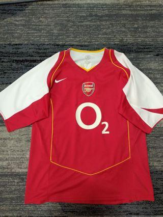 Arsenal Home 2004/05 Jersey