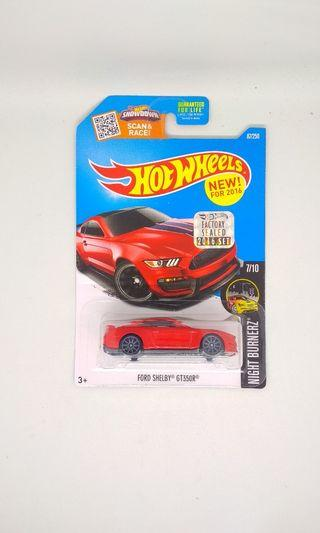 Hot Wheels Ford shelby gt 350