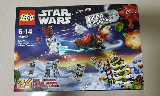 New in box LEGO 75097 advent calendar