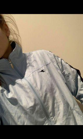 Light blue diadora jacket