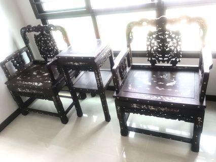 Blackwood  酸枝木China MOP inlaid furniture