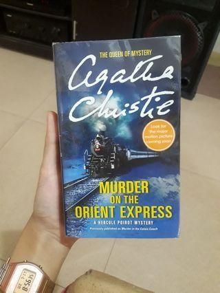 Murder On the Orient Express by Agathan Christie