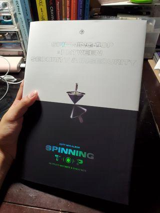 GOT7 Spinning Top Album - '&' Version KPOP