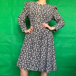 Don't Ask Don't Tell Vintage Floral Dress