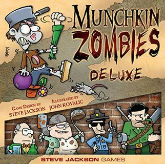 Munchkin Zombies Deluxe Edition Board Game