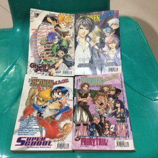 Komik Jepang Manga Shonen Magz