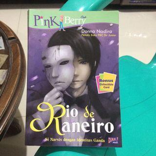 Novel Pinkberry Club Rio de Raneiro