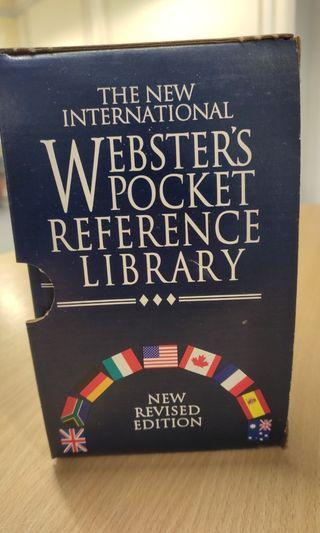 The new  international Websters pocket reference dictionary