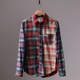 Checkered Shirt (S~2XL)