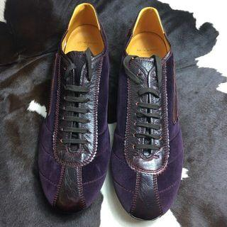 Etro chic sneakers purple velvet EU44
