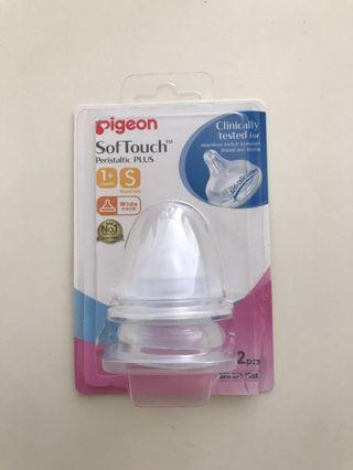 🚚 Pigeon SofTouch Teats 1+ month