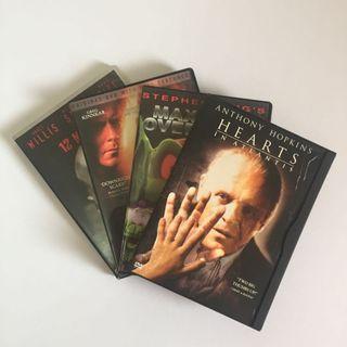 SET OF 4 Orig DVD Movies Horror SciFi Suspense Thriller Stephen King