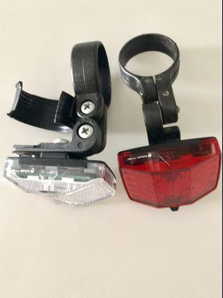 Topeak Front and Rear Bicycle Lights